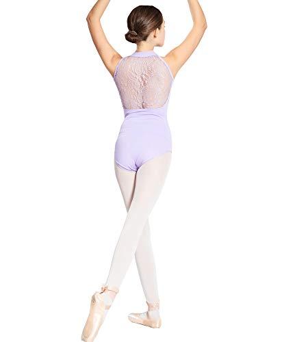 ModLatBal Women's Halter Neck Spandex Cotton Ballet Dance Gymnastics Leotard ()