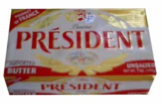President Imported Unsalted Butter,7oz (199g)