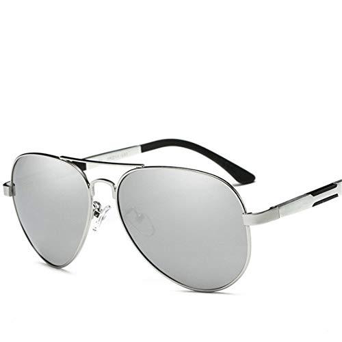 Black Polarizadas ZYZHjy Doble plata Sol Gafas Hombres De Golden nYSpf