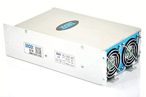 XINCOL AC To DC Converter AC110V/220V to DC24V 30A 720W Switching Power Supply Transformer Regulated for LED Strip light,CCTV,Camera,Computer Project etc (Power Watt Supply 720)