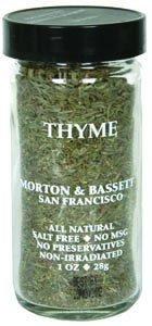 Morton & Bassett Thyme
