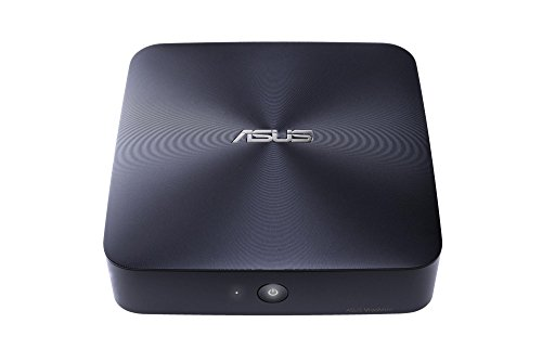 Asus Barebone VivoMini UN65-M023M Mini-PC (Intel Core i3-6100U, ohne Speicher, ohne HDD, kein Betriebssystem) Midnight Blue