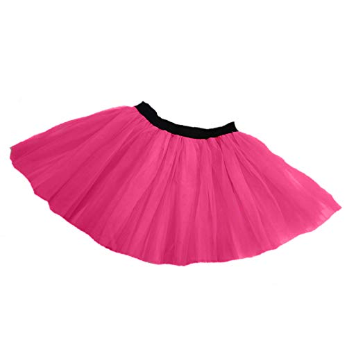 Tutu Sports Boston New York Marathon Fun Run Charity Skirt Running Adult Costume (HOT Pink, ST)]()