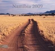 Namibia 2009: Farbfotogrossformatkalender