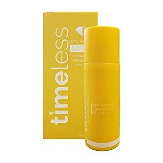 Timeless Skin Care 20% Vitamin C Plus E Ferulic Acid Serum, 1 Fl Oz (Pack of 1)