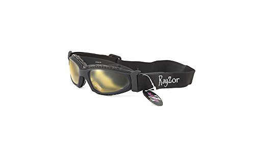 SnowBoard In Professional 2012 UV400 2 Black Sunglasses Gogg 1 Ski Rayzor X6wx8