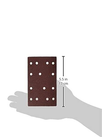 POWERTEC 4R13515-50 150 Grit A//O Hook and Loop for RTS 400//LS 130 Sander Pad 50 Pack
