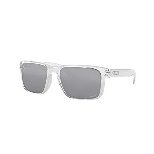 Oakley Holbrook Sunglasses/Polished Clear/Prizm Black Polarized ()