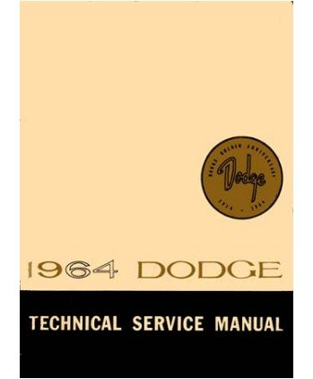 Factory Shop - Service Manual for 1964 Dodge Polara - 330 - 440 - Others Service Manual