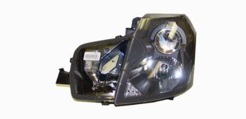 OE Replacement Cadillac CTS Driver Side Headlight Assembly Composite (Partslink Number GM2502242) (2005 Cts Headlight Assembly compare prices)