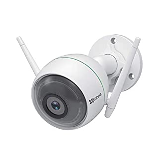EZVIZ C3WN 1080p Outdoor WiFi Bullet Camera Weatherproof Smart Motion Detection Zone 100ft Night Vision 2.4GHz WiFi Supports MicroSD Card up to 256G