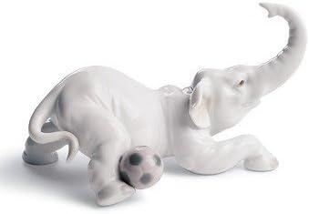 ELEPHANT GOAL Lladro Porcelain