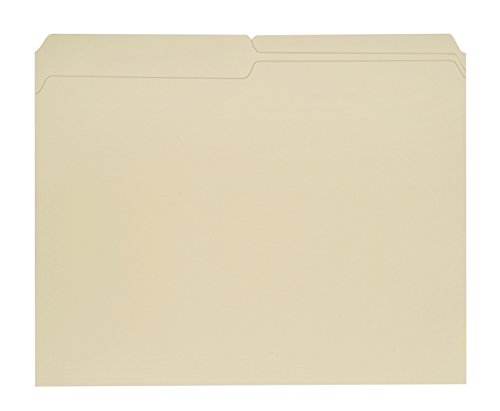 Neci 1102R Recycled File Folder, Letter, 3/4