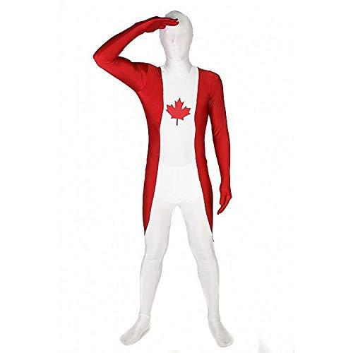 Morphsuits Men's Canada Original Flag Fancy Dress Costume, X-Large -