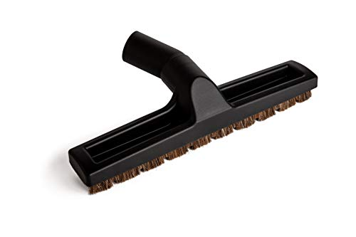 Green Label Deluxe Hard Floor Brush with Horsehair Bristles Compatible with Bosch and Miele Vacuum Cleaners