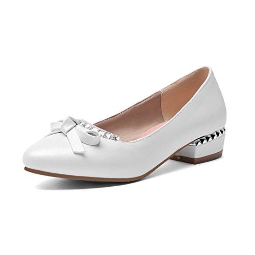 Versión coreana señaló los zapatos bajo/Zapatos de corte bajo/arco de zapatos del estudiante A
