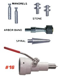 #16 HANDLER - Chuck Changer with Accessories- provides full precision 101374 Us Dental Depot -