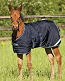 AMIGO Foal Turnout Blanket 42 Navy For Sale