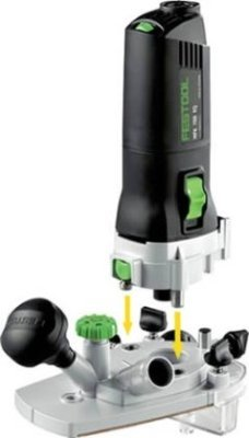 Festool MFK 700 EQ Modular Trim Router Set by Festool