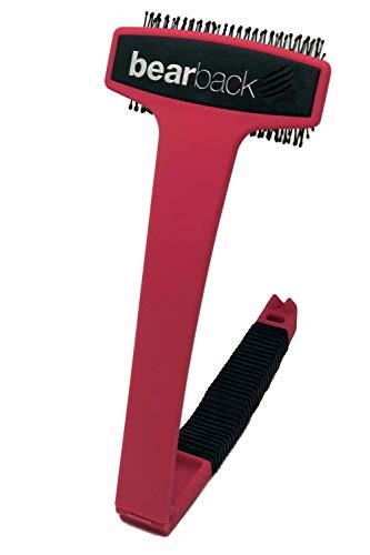 Bearback Back & Body Scratcher: The Original Bristled Scratcher. Premium Quality Folding Skin Invigorating Brush. A…