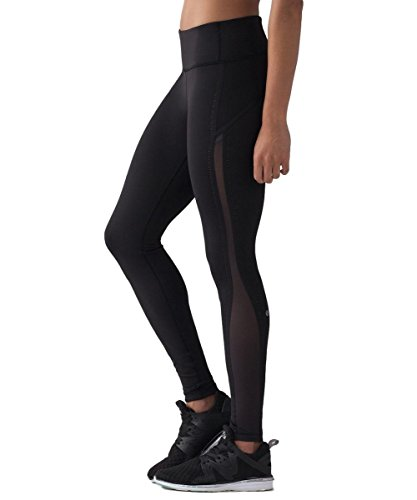 Lululemon - Smooth Stride Tight - Black - Size 12 by Lululemon