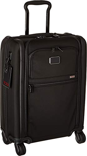 - TUMI - Alpha 3 International 4 Wheeled Slim Carry-On Luggage- 22 Inch Rolling Suitcase for Men and Women - Black