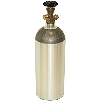 Amazon com: New 20 lb Aluminum CO2 Cylinder with Handle and New