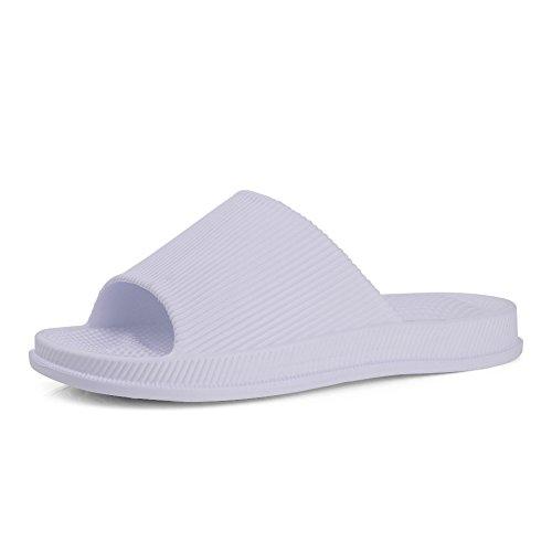 EQUICK Premium Women and Men Bath Slipper Anti-Slip For Indoor Home House Sandal 01purpel