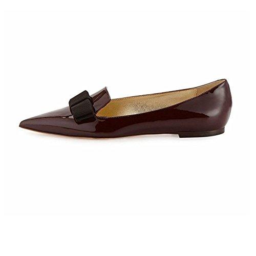 A Flats Vino Classic Farfalla Elashe Donna Cravatta Ballerine Scarpe Da nXq4fB