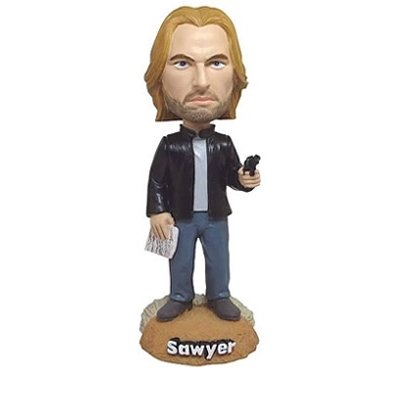 Bif Bang Pow! - Lost Bobble-Head Sawyer 18 cm