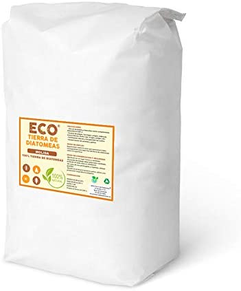 ECO Tierra de diatomeas Molida 25kg - Producto 100% Natural - Grado alimenticio E551c