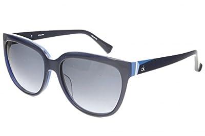 Calvin Klein CK4260S Midnight Blue w/Gray Blue Gradient Lens 027