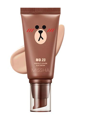 Missha Perfect cover BB Cream SPF42 PA+++ [Line Friends Edition] (#23 Natural Beige)