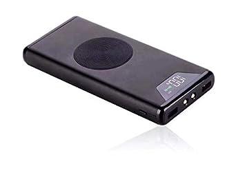 PowerBank 10000mAh Batería Externa Portátil Ultra ligero Doble Puerto y 1 Cargador Inalámbrico para Samsung Galaxy S9/S9 Plus/S8/S8/S7/S7/S6/Plus/Note ...