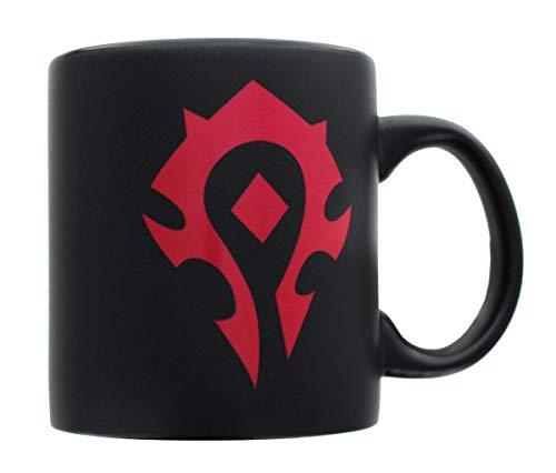 20oz-OFFICIAL-World-of-Warcraft-HORDE-GLOSS-MATTE-Black-colored-Ceramic-Coffee-Mug-Novelty-GIFT