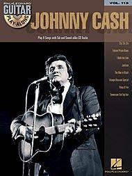 Hal Leonard Johnny Cash - Guitar Play-Along Volume 115 (Cash Sheet Music)