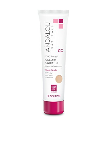 Andalou Naturals 1000 Roses CC Color + Correct Sheer Nude SPF 30, 2 Ounce by Andalou Naturals (Image #5)