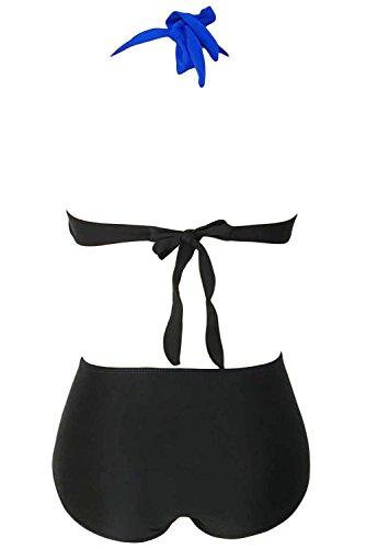 sleekwear - Conjunto - para mujer azul real