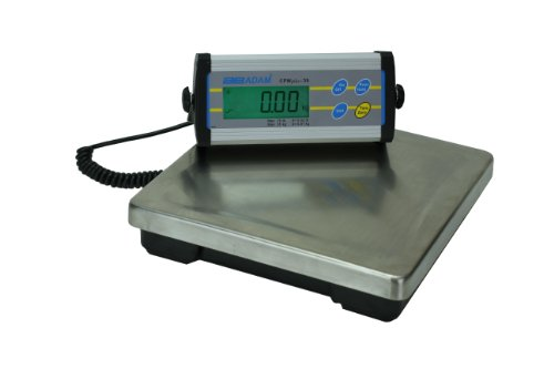 Adam Equipment CPWplus 35 Bench Scale, 75lb/35kg Capacity, 0.02lb/10g Readability by Adam Equipment