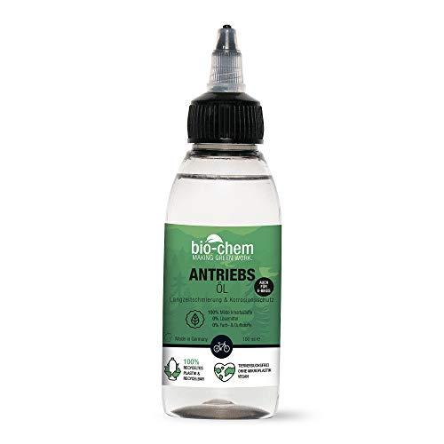 Bio-chem Fietskettingsolie, 100 ml, druppelfles, biologische premium kwaliteit, wellness voor fietskettingen van alle…