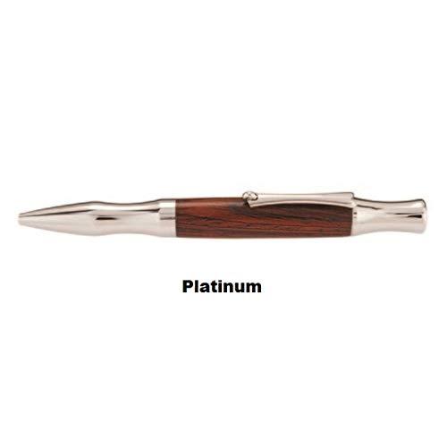 Princeton Pen - Platinum (Zebra Wood)