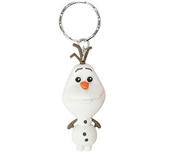 Llavero Disney Frozen Olaf muñeco de Nieve Monogram Goma 7 ...