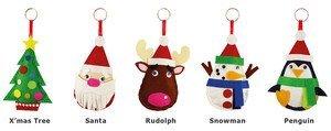 PLUSHIE FELT CHRISTMAS KIT - SNOWMAN   B00AY05N80