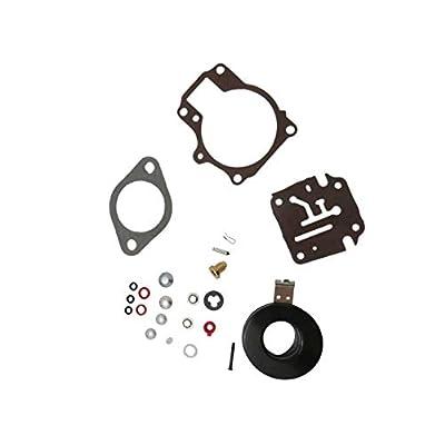 High Performance 396701 Carburetor Carb Repair Kits For Johnson Evinrude Carburetor 18 20 25 28 30 35 40 45 48 50 55 60 65 70 75 HP Outboard Motors with Floats: Automotive