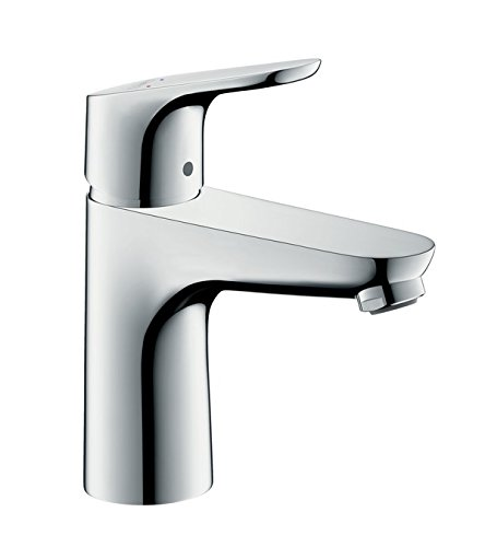 hansgrohe Focus basin mixer tap 100 with pop up waste, chrome ...