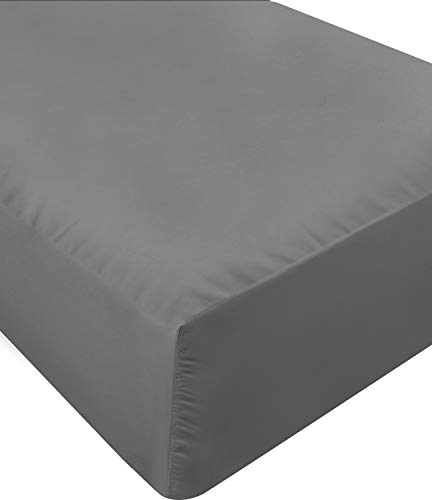 Utopia Bedding King Fitted Sheet (Grey)