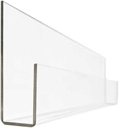 Peekaboo Clear Acrylic Shelf (24'') by James Reese Baby