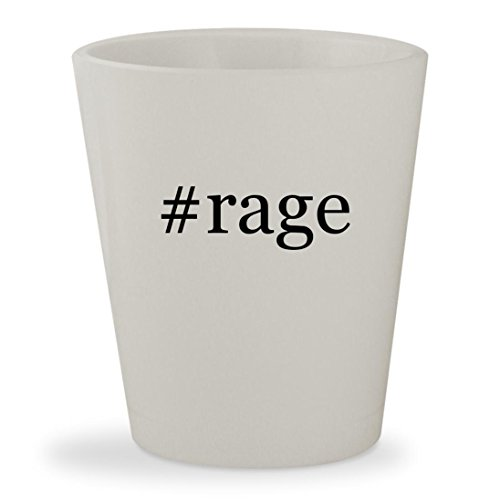 #rage - White Hashtag Ceramic 1.5oz Shot - Rage Arnette Sunglasses