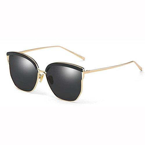 Color Sol 400 UV Retro xin WX De Sra 3 Gafas De Circular 2 Dulce Gafas Marco Metal XS6p7wq