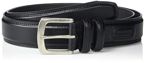 Columbia Men's Classic Logo Belt-Casual Dress with Single Prong Buckle for Jeans Khakis